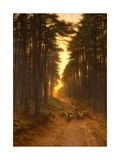 Now Came Still Evening On, c.1905 Giclée-tryk af Joseph Farquharson