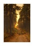 Now Came Still Evening On, c.1905 Giclée-Druck von Joseph Farquharson