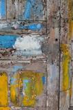 Old Door, Havana, Cuba Fotografisk tryk