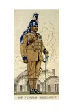 Subadar-Major of the 8th Punjab Regiment, Indian Army, 1938 Giclee Print