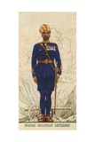 Subadar-Major of the Indian Mountain Artillery,, Indian Army, 1938 Giclee Print