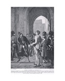 General Daumesnil at Vincennes, 1815, Illustration from 'Hutchinson's History of the Nations',… Giclee Print by  Melanque