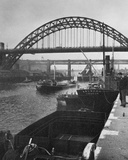The Tyne Bridge, Newcastle-Upon-Tyne Photographic Print by  English Photographer
