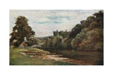 The Blackwater at Lismore Castle Giclee Print by Francis S. Walker