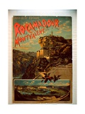 Rocamadour and Montvalent, c.1900 Giclee Print by  French School