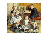 Children's Pastimes, 1912 Giclee Print by Frederick Clement Gad