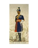 Risaldar-Major in Full Dress of the Scinde Horse, Indian Army, 1938 Giclee Print