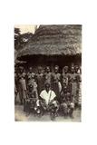 Old Time Chief, Upper Mendi, Sierra Leone, c.1920 Impression giclée