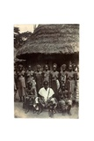 Old Time Chief, Upper Mendi, Sierra Leone, c.1920 Giclee Print