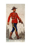 Royal Canadian Mounted Police, 1938 Giclee Print