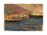 Crimean Port, 1969 Giclee Print by Svetlana Ryazanova