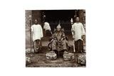 His Highness Oba (King) Aderemi I, the Oni of Ile Ife, Yorubaland, Nigeria, c.1930 Reproduction procédé giclée