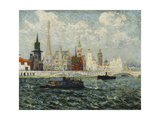 Les Pavillons, Paris Exposition Internationale, 1900, 1900 Giclee Print by Maxime Emile Louis Maufra