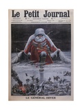 General Winter, Front Cover Illustration from 'Le Petit Journal', Supplemen Giclee Print by Louis Bombled