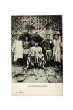 Chief of Dschang, Cameroon, c.1910 Giclee Print
