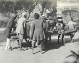 Unloading Lilah Wingfield and Sylvia Brooke's Luggage, January 1912 Photographic Print by  English Photographer