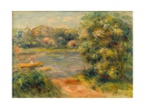 The Boat on the Lake, 1901 Giclee Print by Pierre-Auguste Renoir