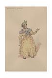The Landlady of Almack's, c.1920s Giclee Print by Joseph Clayton Clarke