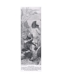 Stone Worker, Illustration from 'Hutchinson's History of the Nations', c.1910 Giclee Print by Fernand Cormon