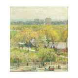 Across the Park, 1904 Giclee Print by Childe Hassam