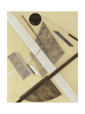 Proun: Path of Energy and Dynamic Flows, c.1920 Giclee Print by Eliezer Markowich Lissitzky