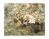 Spring Idyll, 1905 Giclee Print by Edward Atkinson Hornel