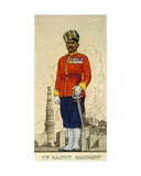 Subadar of the 1st Battalion (Queen Victoria's Own Light Infantry) 7th Rajput Regiment, 1938 Giclee Print