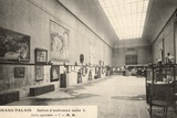 Grand Palais, Salon d'Automne, View of Room 3, 1905 Photographic Print by  French Photographer