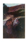 The Flight from Egypt Giclee Print by Corwin Knapp Linson