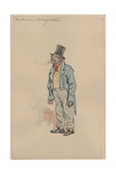 A Labourer in Holiday Clothes, c.1920s Giclee Print by Joseph Clayton Clarke