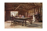 The Grammar School, Stratford on Avon Giclee Print by Francis S. Walker