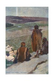 Shepherds Abiding in the Field Giclee Print by Corwin Knapp Linson