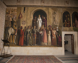 Mural of the Coronation of Queen Isabella, Gallery Chamber, Alcazar, Segovia, Spain, 2007 Photographic Print
