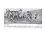 Migration of a Tribe, Illustration from 'Hutchinson's History of the Nations', c.1910 Giclee Print by Fernand Cormon
