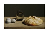 Blue Eggs and Bread, 2010 Giclee Print by James Gillick