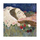 Miss Ria Munk on Her Deathbed; Fraulein Ria Munk Auf Dem Totenbett, c.1910 Giclee Print by Gustav Klimt
