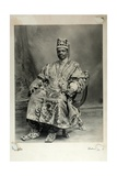 Ladapo Samuel Ademola, Later the 7th Alake of Abeokuta, England, 1904 Giclee Print by Louis Adolph Langfier