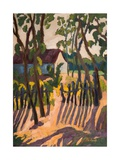Ramshackle Fence (2011) Giclee Print by Marta Martonfi-Benke