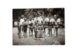 Cameroonian Chief with His Women, Cameroon, c.1930 Giclee Print by H. S. Freeman