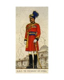 Aide-De-Camp to the Viceroy of India, 1938 Giclee Print