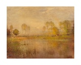 Landscape, Sunshine and River Giclee Print by Ernest Parton
