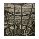 Crane Operator, 1970 Giclee Print by Masabikh Akhunov