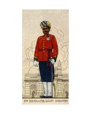 Subadar-Major of the 5th Mahratta Light Infantry, Indian Army, 1938 Giclee Print