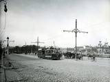 Electric Trams in St. Petersburg, c.1910 Photographic Print by Karl Karlovich Bulla