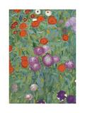 Flower Garden, 1905-07 (Detail) Giclée-Druck von Gustav Klimt