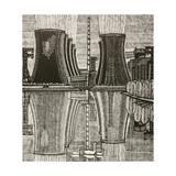 Novovoronezh Nuclear Power Plant, 1978 Giclee Print by Masabikh Akhunov