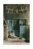 Turf Fire at Huckaback, Castleton, Yorks, Which Has Not Been Out for 73 Years. Postcard Sent in… Giclee Print by  English Photographer