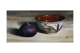 Fig and Bowl, 2012 Giclee Print by James Gillick