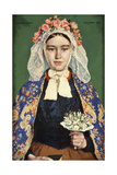 The Bride of Brabant, 1928 Giclee Print by Julius Gari Melchers