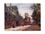 St John's College, Oxford Giclee Print by William Matthison
